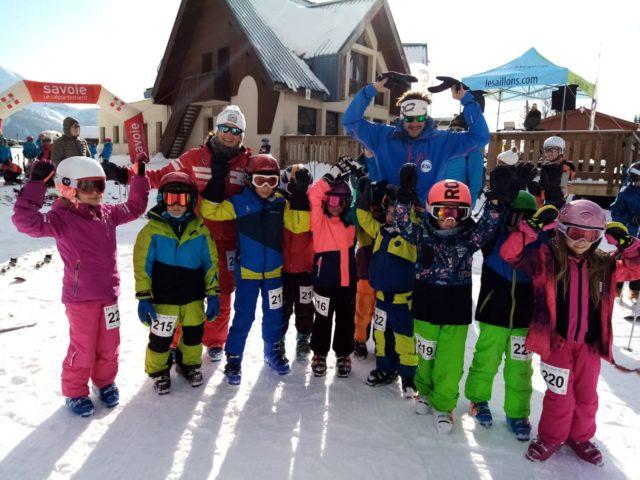 Ski Jeune Défi à Margériaz